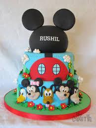 Disney Themed First Birthday Cake Cake By The Cake Tin Cakesdecor