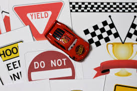 Free Cars Printables Race Car Printables With Diy Checkered Flag And Race Track Play Mat