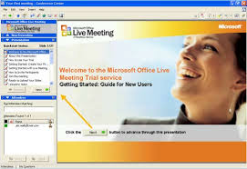 Microsoft Office Meeting Get It Done Microsoft Office Live Meeting Provides Easy
