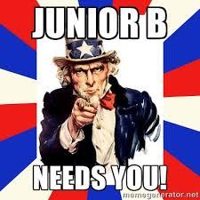 Junior B Needs You! - uncle sam i want you | Meme Generator via Relatably.com