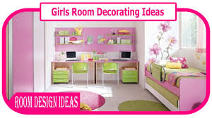 decorating ideas for girls bedroom. Brilliant Bedroom Girls Room Decorating Ideas  Little And For Bedroom H