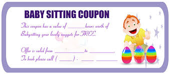 10 Funny Babysitting Coupons To Promote Your Daycare Service