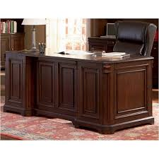 Home office furniture cherry Executive Desk Home Living Furniture 800564b1 Coaster Furniture Cherry Valley Home Office Desk