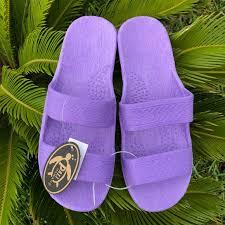 Pali Hawaii Jandals Lilac Nwt