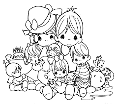 Small Picture Free Precious Moments Coloring Pages Beautiful Coloring Free