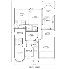 3 bedroom 2 bath house plans 1 story no garage best of small 1 story house