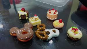 Cute Colourful Small Miniature Cabochon Handphone Desert Food