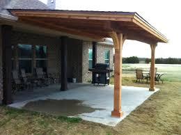 detached patio cover plans build