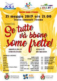 Teramo Teatro Comunale Il 25 Maggio Segni E Parole A Cura Della