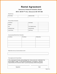 Simple One Page Rental Agreement Delux Pics Lease Template Pg 2