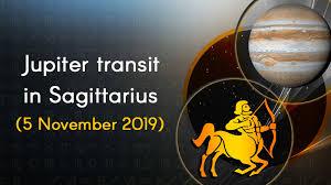 Jupiter Transit 2019 In Sagittarius 5 November 2019