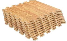 eva foam flooring wood grain foam mats interlocking eva foam exercise gym flooring