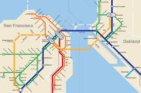 this  bay area bart metro map is everything  curbed sf