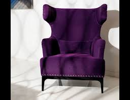 purple accent chair — home designing