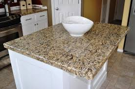 image of how to finish granite tile countertop edges