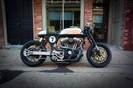 return of the cafe racers ardent featherbed harley sportster cafe racer