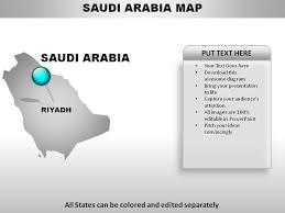 Saudi Arabia Country Powerpoint Maps Powerpoint