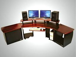 best gaming desk audio editing workstation computer desk gaming desk chair combo