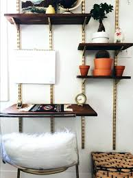 d i y mid century wall shelving unit modern shelf
