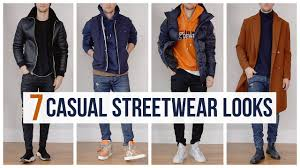 My <b>Casual</b> Streetwear Outfits for Fall <b>Winter</b> | Outfit Ideas | <b>Men's</b> ...