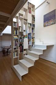 bookcase and stairs Mehr