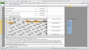 Holiday Request Form Holiday Request Form In Excel Demo YouTube 14