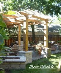 garden latticework pergola ideas for front of house