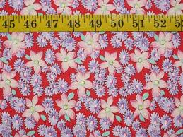38 best Holiday Fabrics for Sale images on Pinterest   Yards ... & Pink & Lavender Floral on Red, by Windham Fabrics -