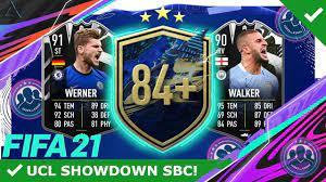 FIFA 21 FUT Showdown-SBC Werner vs. Walker
