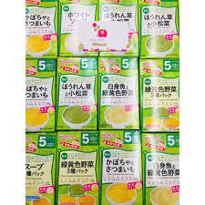 Bột ăn dặm cho bé Wakodo Nhật, Giá tháng 11/2020
