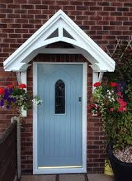 front door canopyThe Isabelle door canopy is very easy to build and install Hand