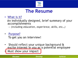 Technical Resume Writing; 3.