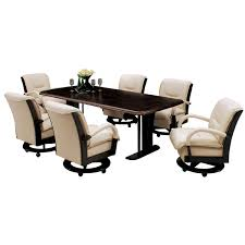 swivel dining chairs with casters umwdining