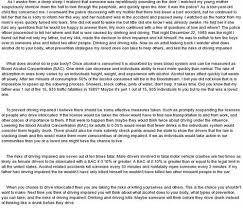 custom written essays on drunk drivingessay on drunk driving essay writing is a topic that your side of the