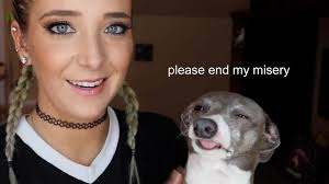 jenna marbles annoying her dogs for 2 minutes straight