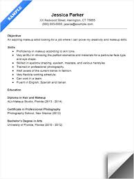 Beginner Resume Stunning Gallery Of Beginner Makeup Artist Resume Sample Makeup Artist