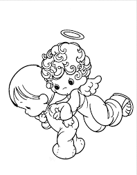 Small Picture Baby Angel Coloring Pages Coloring Pages