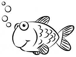 Small Picture Print Coloring Pages Goldfish Coloring Pages