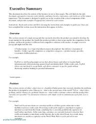007 Template Ideas Executive Summary Microsoft Word Zrom Tk Resume