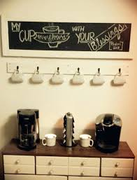 wall mounted coffee mug rack mount cup holder