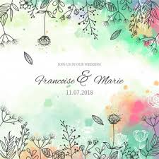 simple background designs to draw. Fine Designs Wedding Invitation With Floral Background In Watercolor Style Intended Simple Background Designs To Draw R