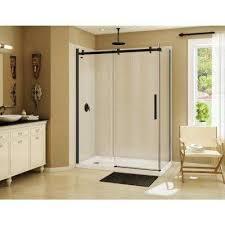 halo 60 in x 31 7 8 in frameless corner sliding shower
