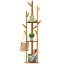 Simple Coat Rack Adorable Trojan Horse Simple Coat Rack Solid Wood Bedroom Hanger Simple
