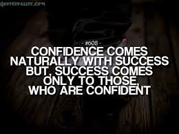 Quotes About Self Confidence Simple 48 Quotes About SelfConfidence That Will Brighten Up Your Life