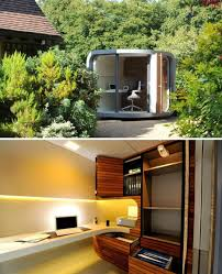 Detached home office 10x12 Shed Officepod Modern Shed Outside Offices 14 Detached Work Pods Eggs Modules More Urbanist