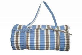 mattress roll. blue beach mats | roll up mattress with pillow