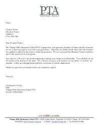 Thank You Letter Samples Appreciation Letter Sample Template