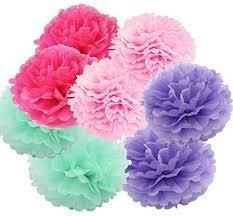 Diy Flower Balls Tissue Paper Daily Mall Art Craft Pom Poms Tissue Paper Flower 12pcs 6