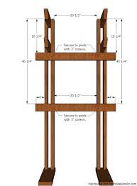 Hall Tree Coat Rack Plans Remodelaholic DIY Hall Tree Coat Rack inspired by Pottery Barn 100