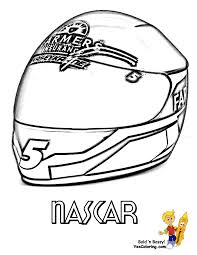NASCAR Coloring Kasey Kahne Helmet at YesColoring | Cool Super Car ...